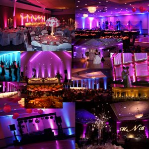 Up Lighting, Sioux Falls DJ, Energy Productions, Sioux Falls Wedding DJ. Up Lights