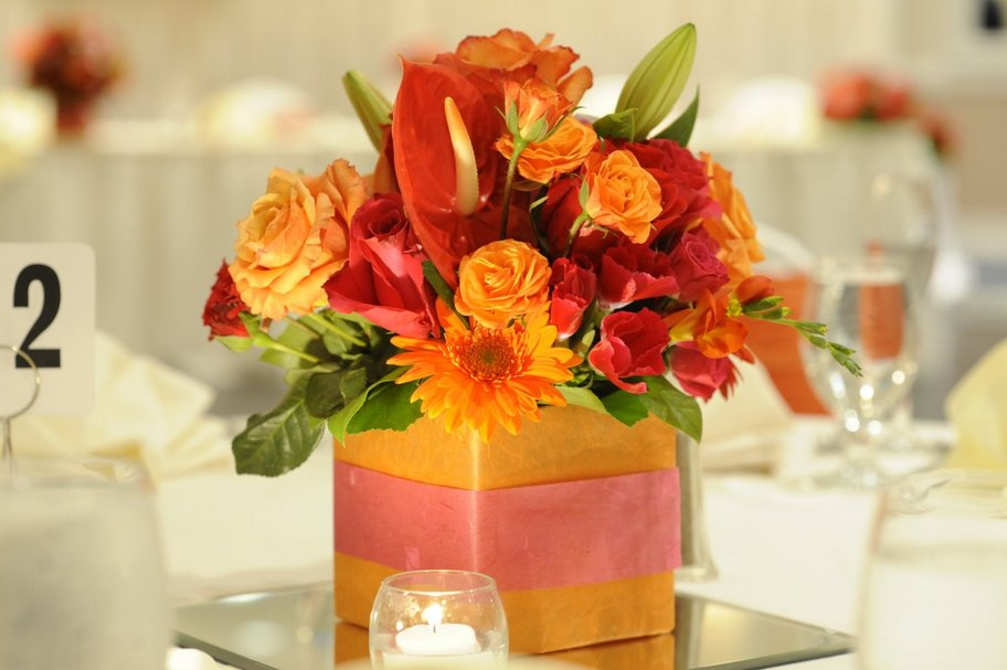 Centerpiece Wedding Reception Ideas Sioux Falls Convention Center