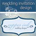Copper Ink Wedding Design
