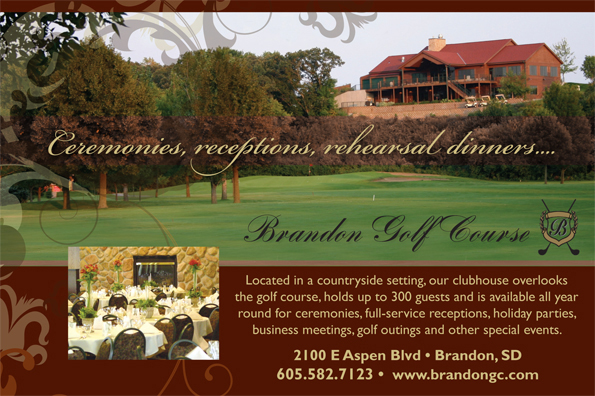 Sioux Falls and Brandon Wedding Reception Venues in South Dakota